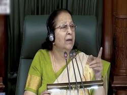 Lok Sabha Speaker Sumitra Mahajan Suspends 12 Tdp Mps Under