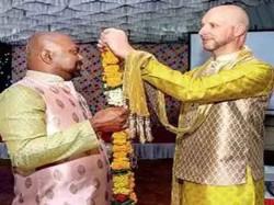 Mumbai Hosts First Same Sex Wedding Party After Supreme Court Verdict