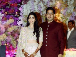 Mukesh Ambani S Son Akash Ambani Russell Mehta S Daughter Shloka