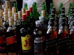 Illegal Liquor Sale Rise 400 Percent Over Last 5 Years