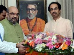 Bjp Shivsena Seat Announcement Soon Amit Shah Udhav Thackeray Holds Talk