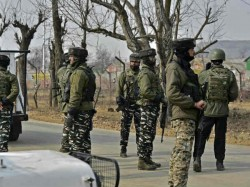 Encounter Between Security Forces Militants In Kulgam
