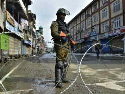 Urgent Deployment Paramilitary Forces Jammu Kashmir Home Ministry