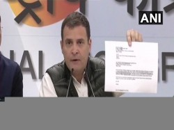 Rahul Gandhi Press Conference On Rafale Deal Attacks Pm Modi Again