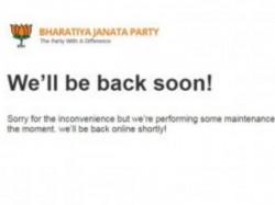 Bjp Website Still Down Even After 16 Days Hacking