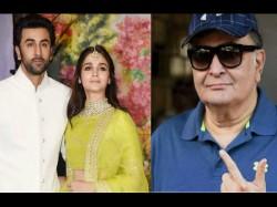 Rishi Kapoor Will Start Preparation Of Ranbir Alia Marriage As He Return From Us