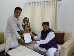 Gujarat Congress Mla Jawahar Chavda Tenders His Resignation