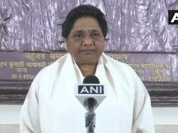 Bahujan Samaj Party Chief Mayawati Says I Will Not Contest The Lok Sabha Elections