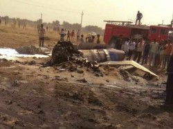 Indian Air Force Mig 29 Crashes Bikaner Rajasthan