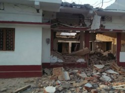 In Bihar The Maoists Blew Up The Bjp Leader House From The Dynamite