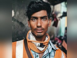 Now Photo Of Green Eyed Bangladeshi Construction Worker Is Breaking The Internet