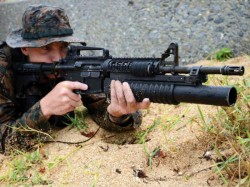 Jammu Kashmir Security Forces Have Recovered An M4 Rifle