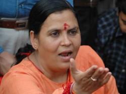 Uma Bharti Won T Contest Lok Sabha Polls Said She Spend Time On Ganga Banks