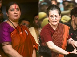 Lok Sabha Elections 2019 Smriti Irani Assets Surges Sonia Gandhi Dips