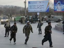 Afghanistan Blast Rocks Country S Capital Kabul