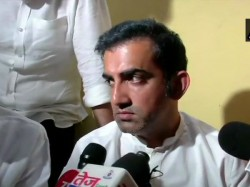 Gautam Gambhir Hits On The Allegation Of Having Two Voter Id Card