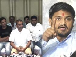 Patidar Reservation Movement Committee Leader Dilip Sabwa Target On Hardik Patel