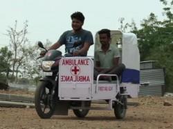 Bike Ambulance Made By Engineering Student Of Jhabua Mp