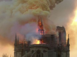 Notre Dame Cathedral Went Up In Flames On Monday
