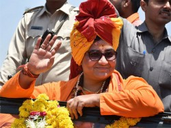 Sadhvi Pragya Thakur Says Cow Urine Has Cured My Breast Cancer
