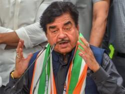Lok Sabha Elections 2019 Shatrughan Sinha In Chhindwara On The Dicision