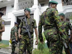 Sri Lankan Army Kills Isis Suicide Bombers In Gunfight During Police Raid