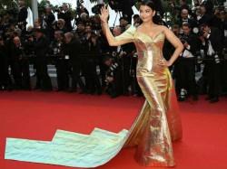 Cannes Film Festival 2019 Aishwarya Rai Glitters In Gold