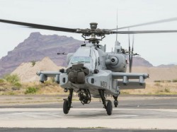 Indian Air Force Got Its First Apache Helicopter