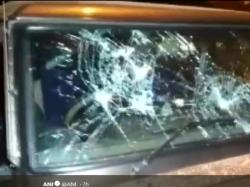West Bengal Vehicles Belonging To Mukul Roy Bjp S Dum Dum Candidate Samik Bhattacharya Vandalised