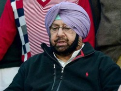 Siddhu Wants To Take My Place Says Cm Of Punjab Captain Amrinder Singh