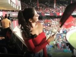 Video Of Rcb Fan Girl Dipika Ghos Gone Viral On Internet