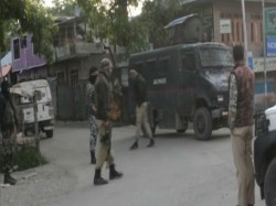 Encounter In Kulgam Between Security Forces And Terrorists In Jammu Kashmir