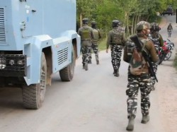 Encounter Between Security Forces And Terrorists In Jammu Kashmir Shopian District Dragad Sugan Are