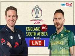 Icc World Cup 2019 South Africa Won The Toss And Elected Bowling First