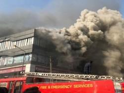 Surat Fire Breakout In Building 15 Died