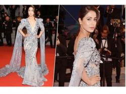 Cannes 2019 Hina Khan Shines Like Diamond Red Carpet Debut