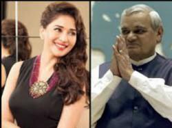 Birthday Special Atal Bihar Vajpayee Was A Big Fan Of Dhak Dhak Girl Madhuri Dixit