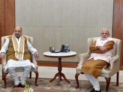 Amit Shah Narendra Modi Started A Discussion About Allies