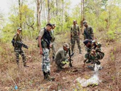 Dantewada Bodies Of 2 Naxals Recovered Following An Exchange Of Fire