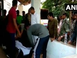 Chhattisgarh A Crpf Jawan B Satish Kumar Deployed At Strong Room Died