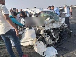 Two Cars Collide In Bhavnagar In Gujarat Four People Of One Family Died