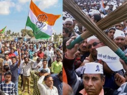 Congress Aap Fight Gives Bjp An Edge In Delhi