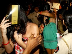 Noida 162 Boys 31 Girls Arrested After Police Busts Rave Party