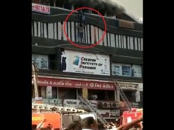 Surat Fire Man Risks His Life And Saved Several Students