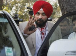 Navjot Singh Sidhu Hits On Amrinder Singh Says Why Only My Department Was Commented