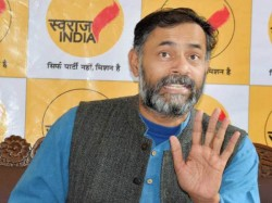 After Exit Polls Yogendra Yadav Twitted Says Congress Must Die