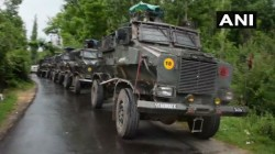J K An Exchange Of Fire Between Terrorists And Security Forces Is Underway Forest Tral Pulwama