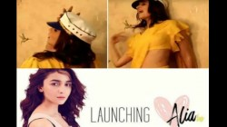 Alia Bhatt Launched Her Youtube Channel And Her First Video