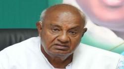 Karnataka Hd Deve Gowda S U Turn On Statement Of Mid Term Election