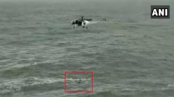 Video Coastguard Airlifted Drowning Man From Sea